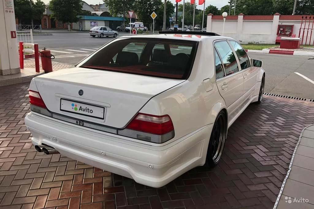 Brabus S600 W140