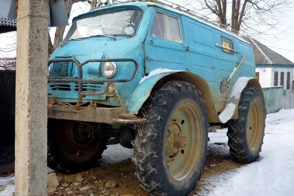 ЕрАЗ на колесах от трактора
