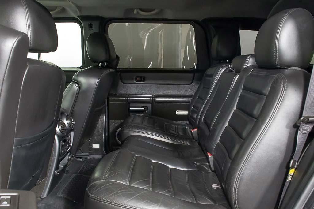 Шестиколесный Hummer H2