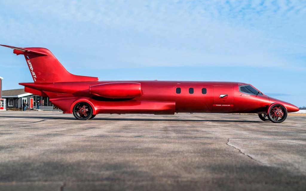 Самолет лимузин
