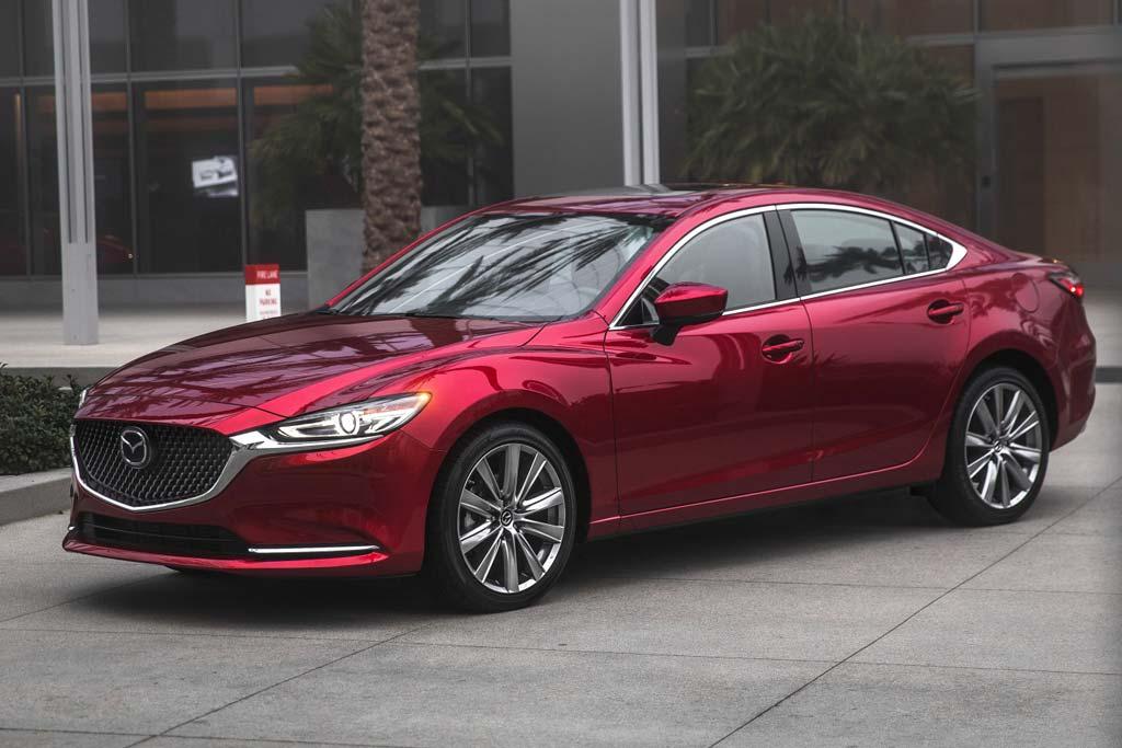 Mazda 6 2020 в новом кузове