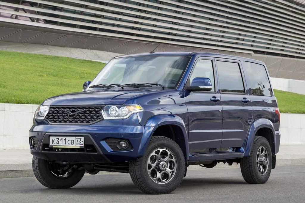 УАЗ Патриот 2021 в новом кузове