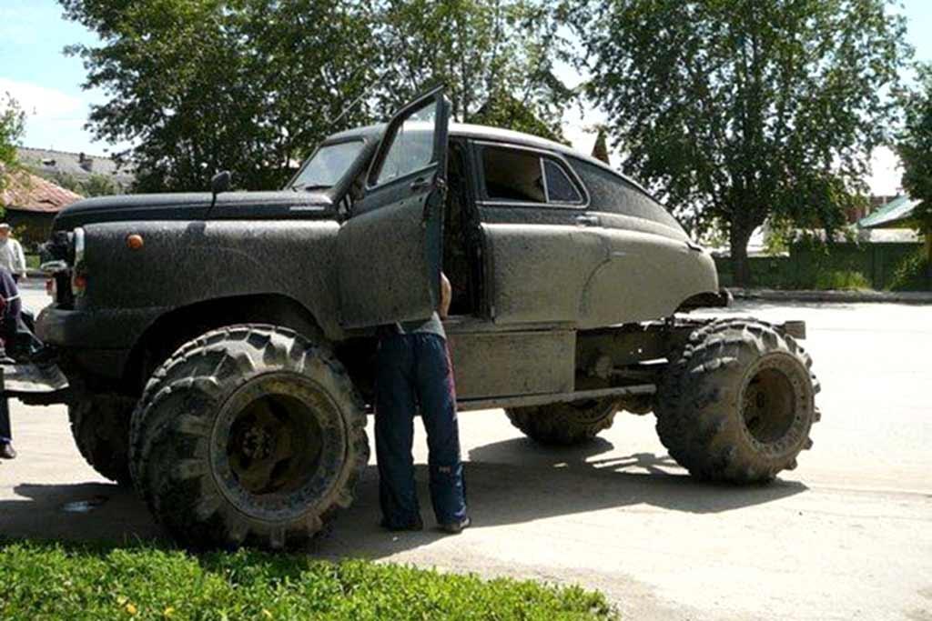 Победа на базе ГАЗ-66