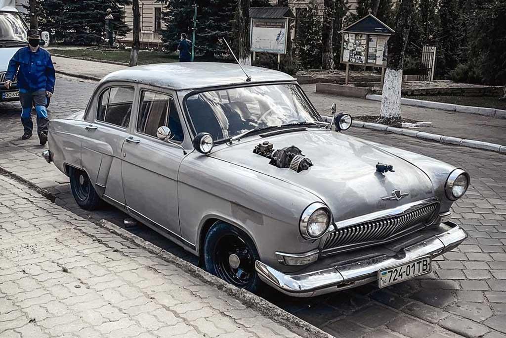 Необычный ГАЗ-21