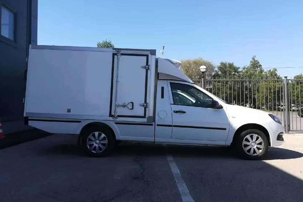 Коммерческий фургон на базе Лада Гранта: новый проект фирмы Промтех