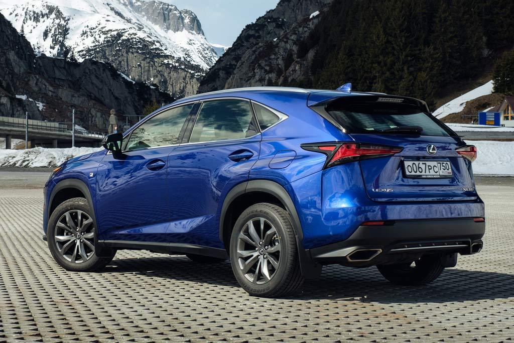 Lexus NX F Sport 2021