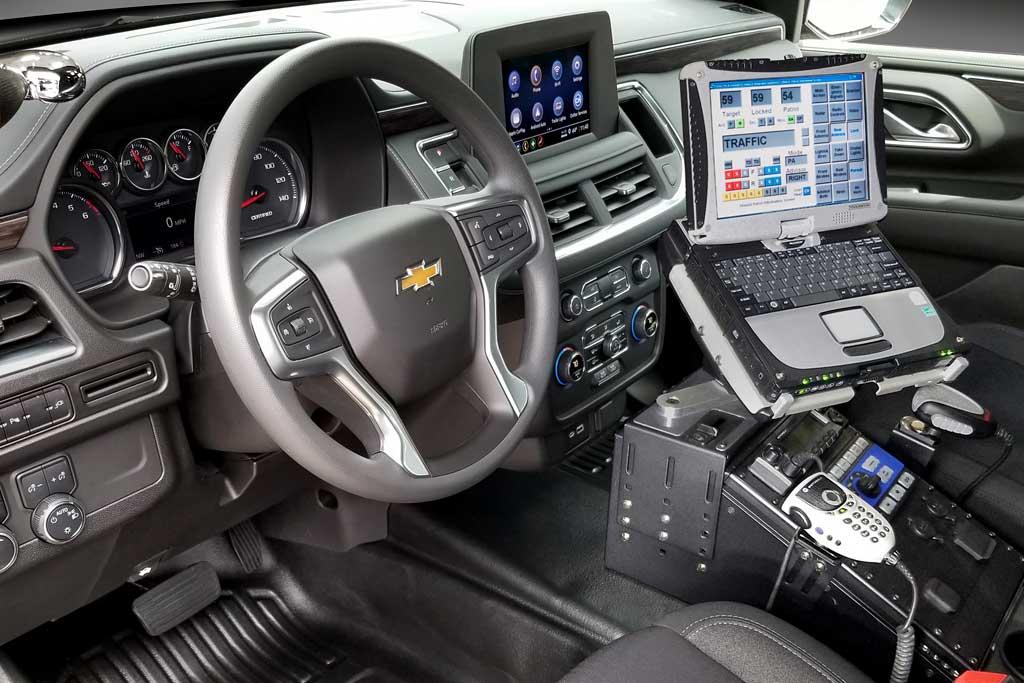 Полицейский Chevrolet Tahoe