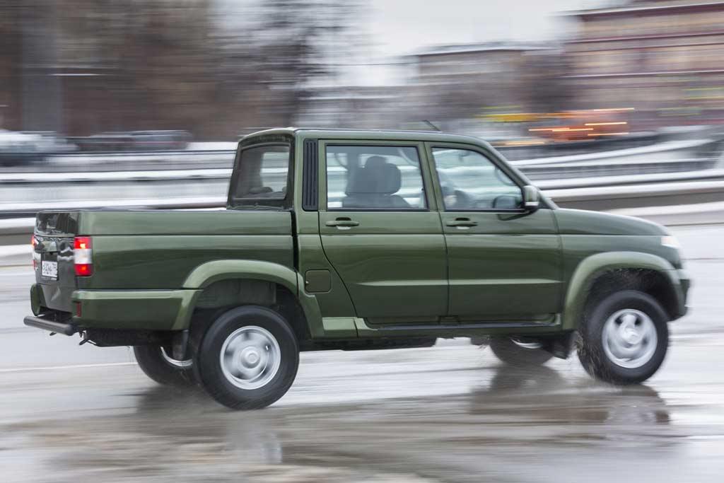 Новый кузов УАЗ Пикап 2020