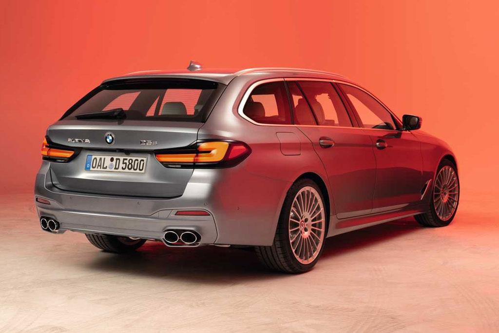 Фирма Alpina поспешила представить обновленные B5 и D5 S: сразу седан и универсал