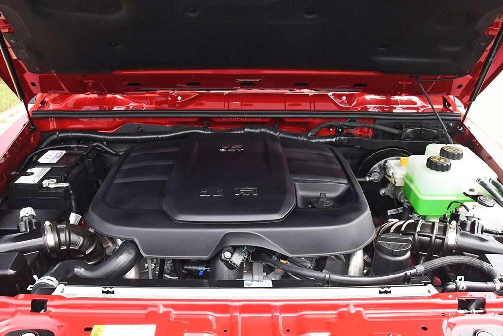 Модернизированный Beijing BJ80: копия Гелендвагена из Китая обзавелась V6