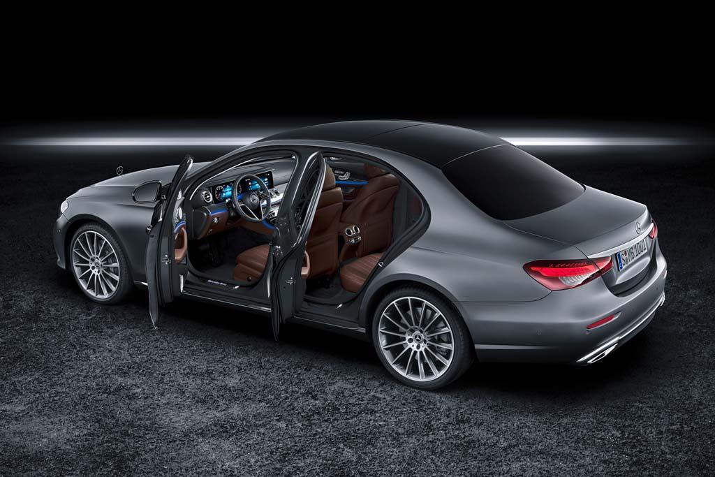 Озвучены комплектации и цены на новый Mercedes E-Class 2020 года в России