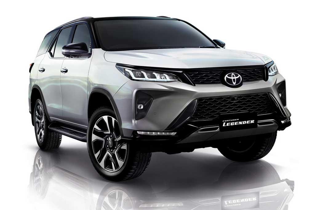 Toyota Fortuner Legeder