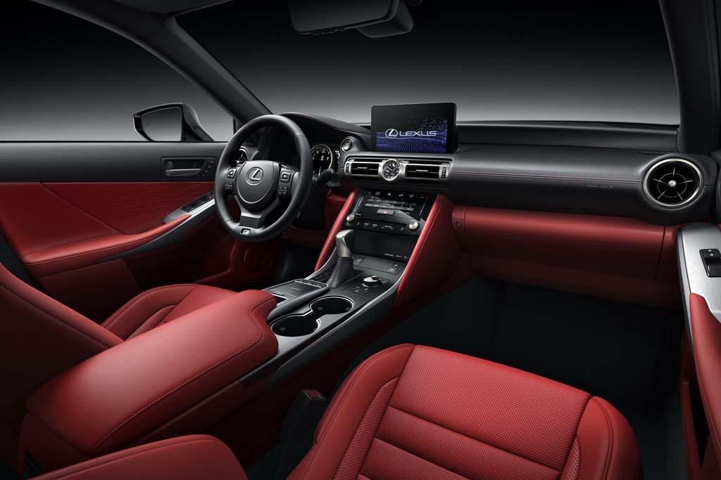 Японцы презентовали новый седан Lexus IS 2021: эволюция предшественника