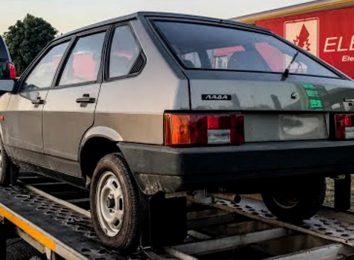 ВАЗ-2109 простоял 30 лет