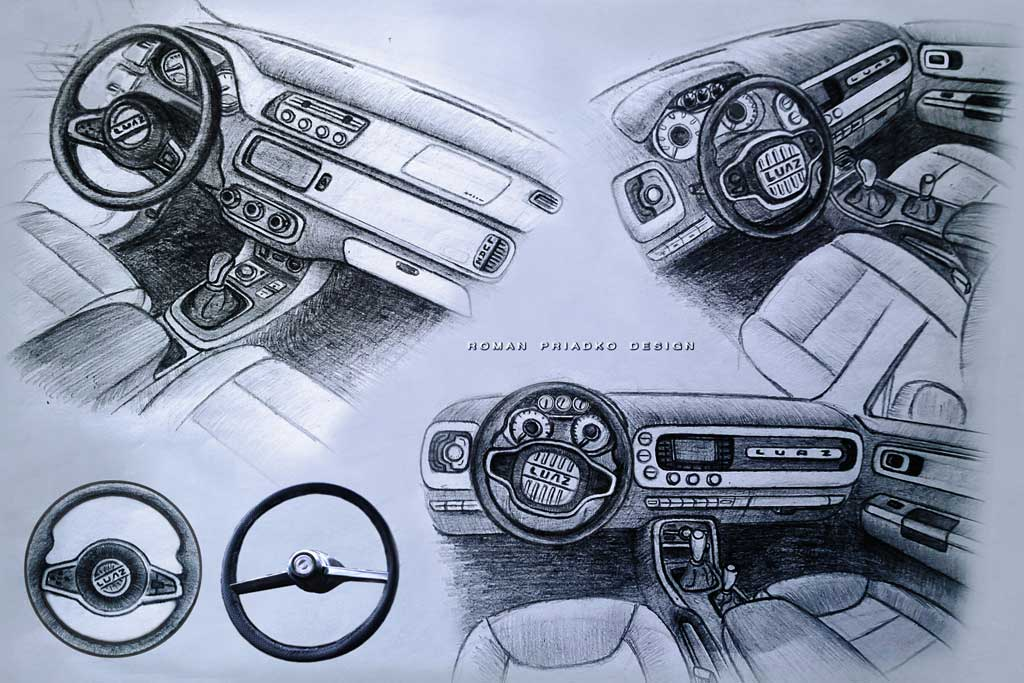 «Волынь» в современной интерпретации: так мог бы выглядеть новый ЛУАЗ-969М