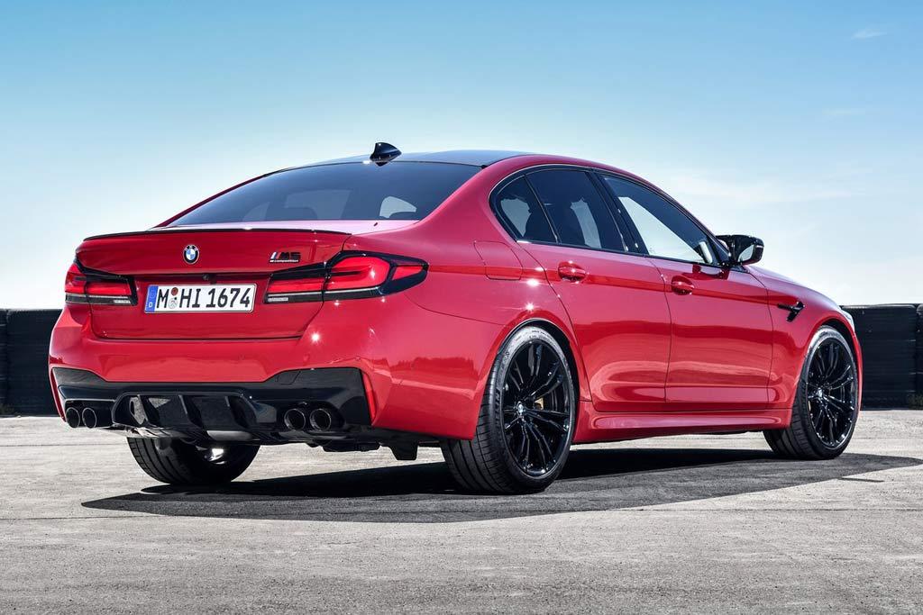 Баварцы презентовали BMW M5 Competition 2021 года: изменений оказалось не так много