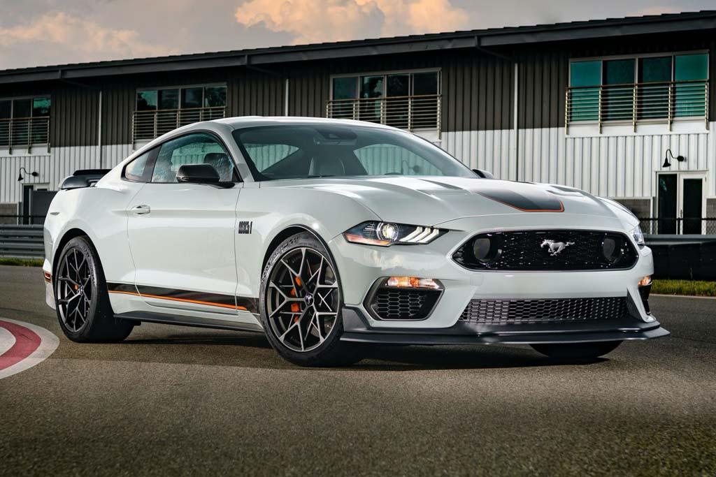 Ford представил новый Mustang Mach 1: тираж модификации будет ограничен