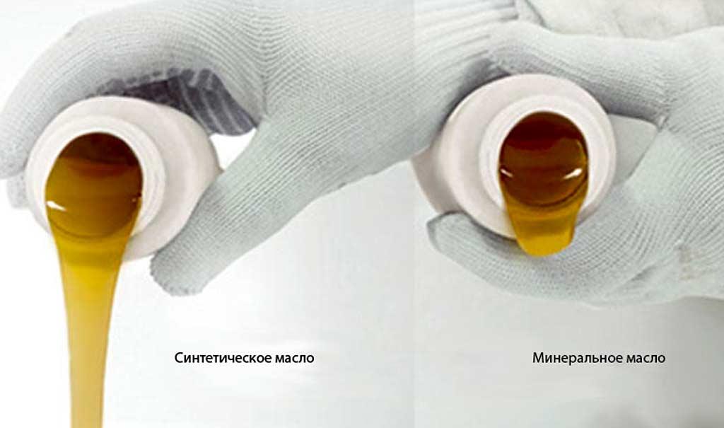 Определение оригинального масла