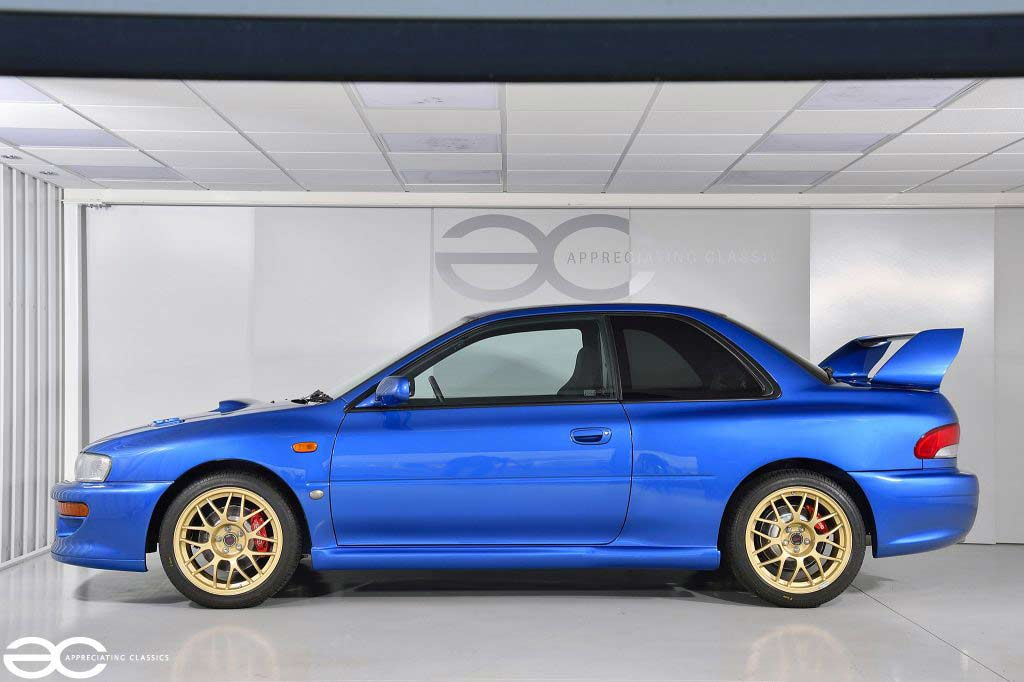 Купленная для перепродажи Subaru Impreza 22B STi 1998 выросла в цене до ₽26,5 млн
