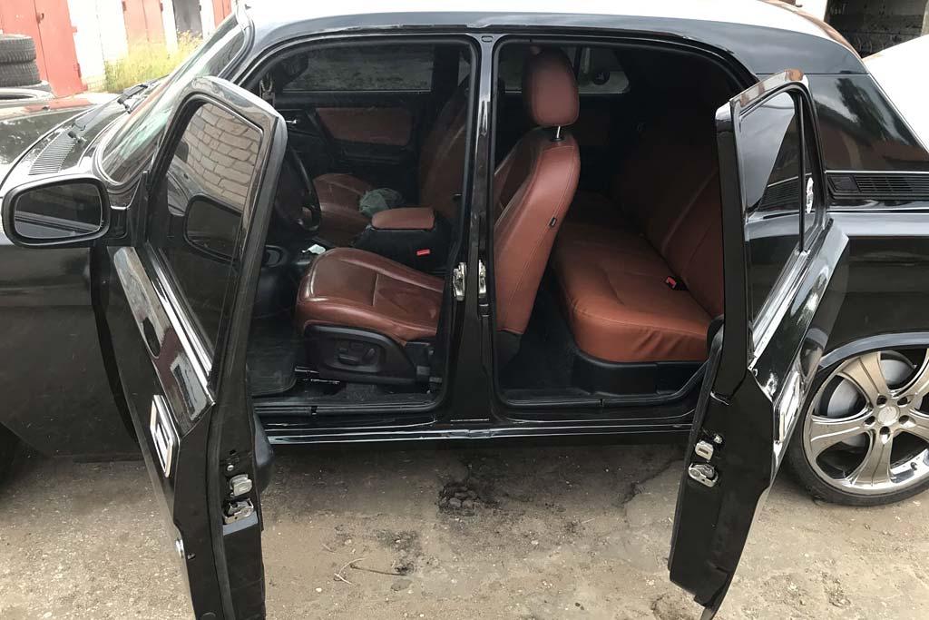 ГАЗ-3102 с распашными дверьми