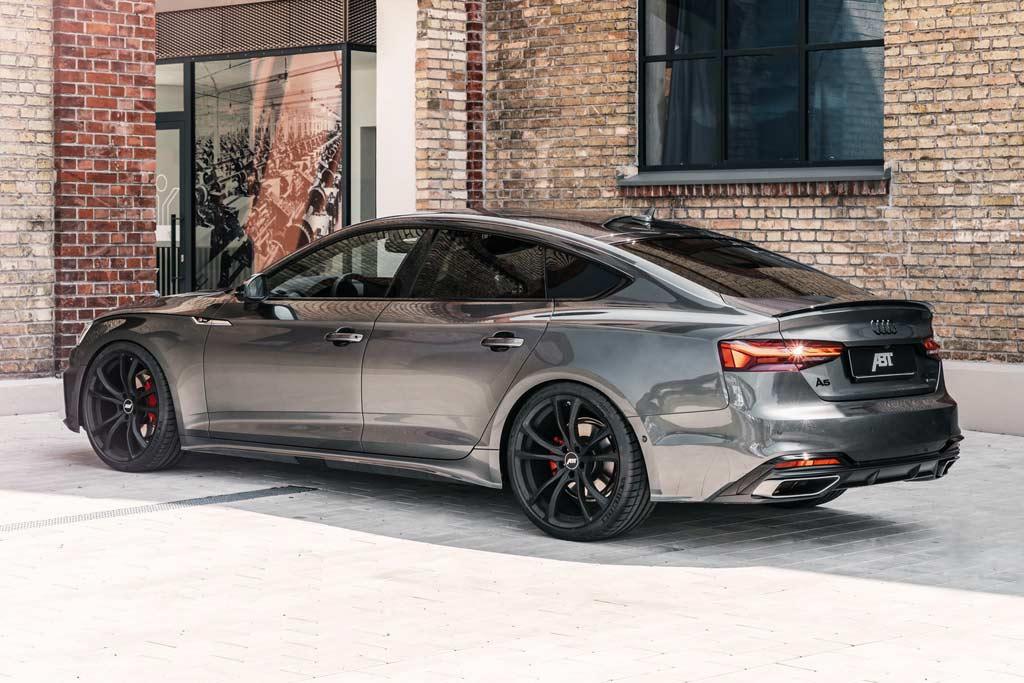 В ателье ABT Sportsline слегка преобразили рестайлинговый Audi A5 Sportback