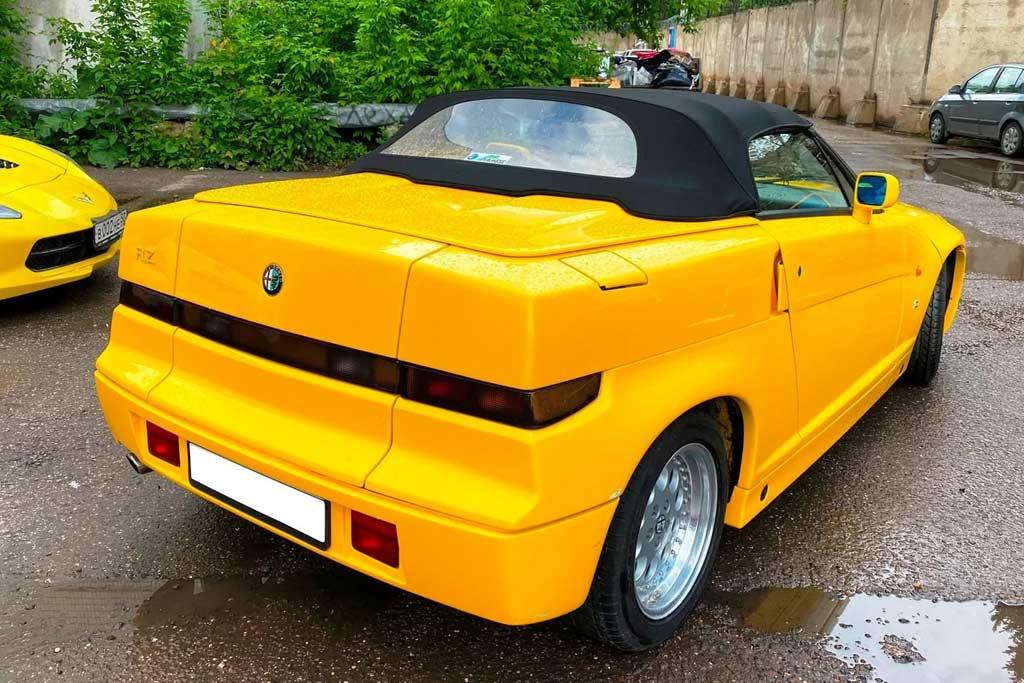 8 млн рублей за старую Alfa Romeo RZ: что за редкий зверь в продаже?