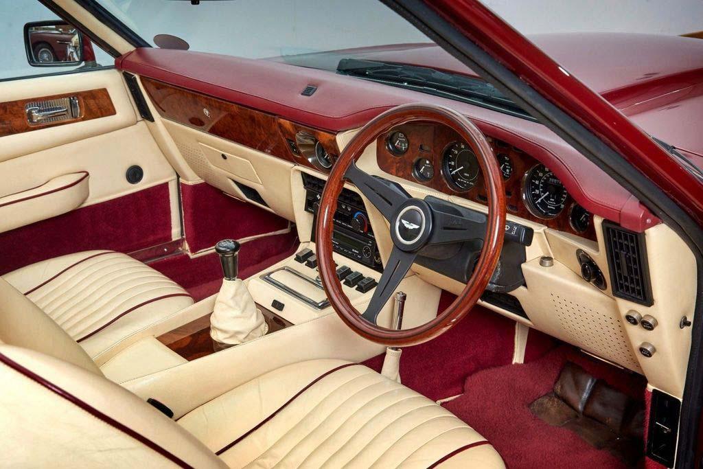 Бывший Aston Martin V8 Volante 1988 года Дэвида Бекхэма продают за 40 млн рублей