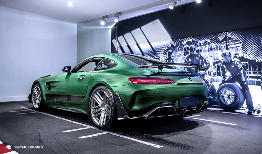 Тюнеры из Carlex Design сделали для клиента особый Mercedes-AMG GT R Pro Tattoo Edition