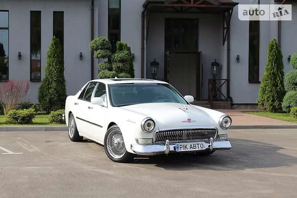 Без особых заморочек: Cadillac Deville стилизовали под ГАЗ-21 «Волга»