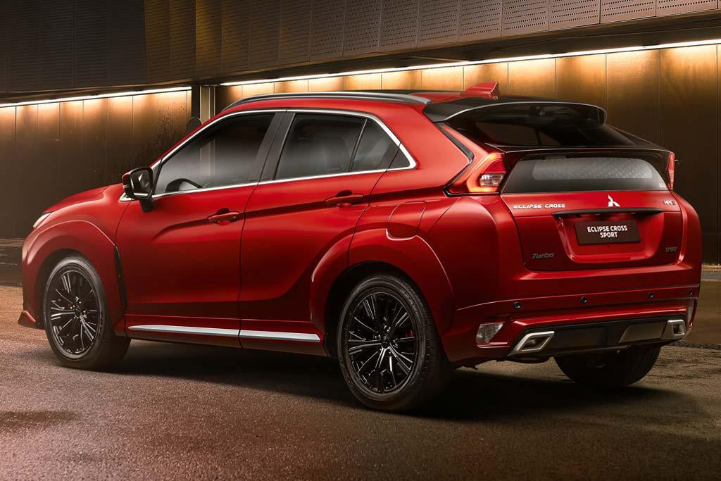 Mitsubishi Eclipse Cross получил две спецверсии: Sport и вседорожный Outdoor