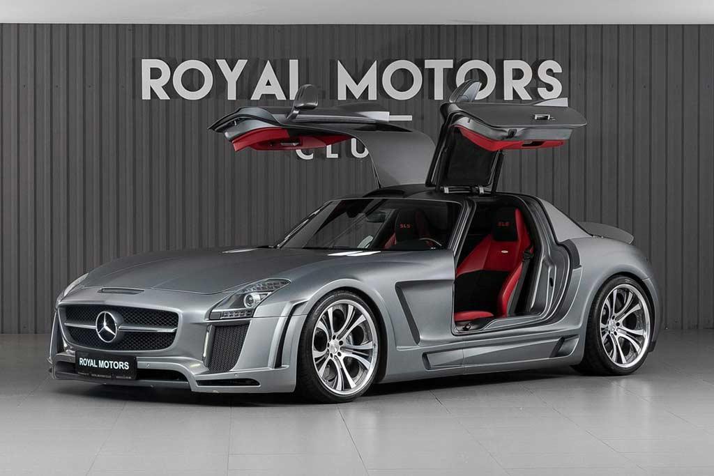 Шикарный Mercedes SLS AMG в необычном обвесе от FAB Design продают за ₽15,5 млн
