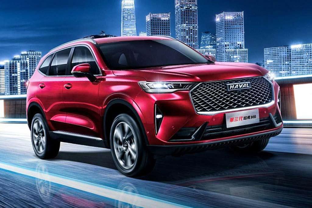 Haval H6 третьего поколения: китайцы рассекретили внешность новой модели