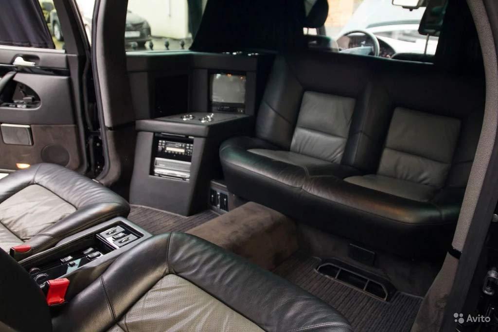 Такого нет ни у кого: в Москве продают лимузин Mercedes W140 Pullman от Brabus