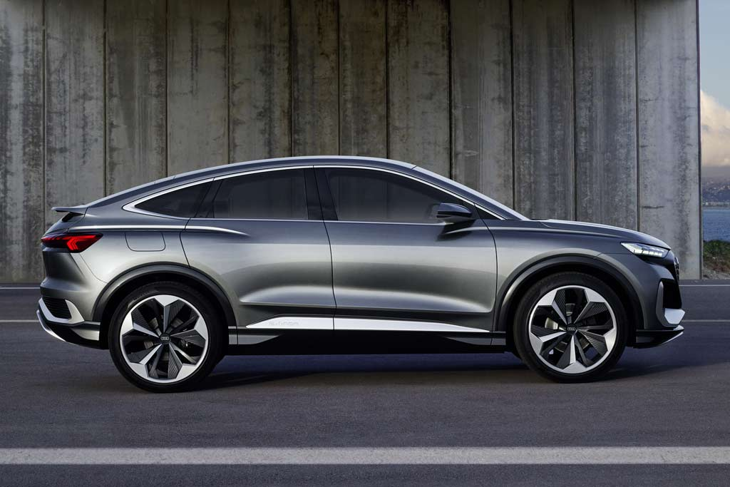 Audi Q4 e-tron Sportback: немцы готовят еще парочку электрических кроссоверов