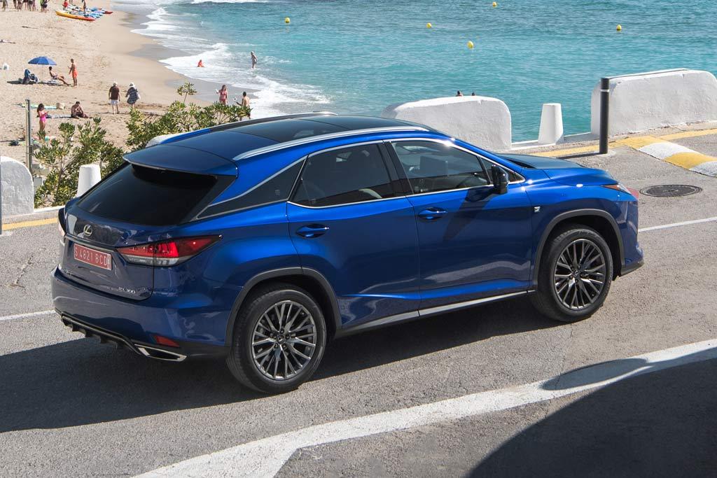 Новая модель Lexus RX 2020