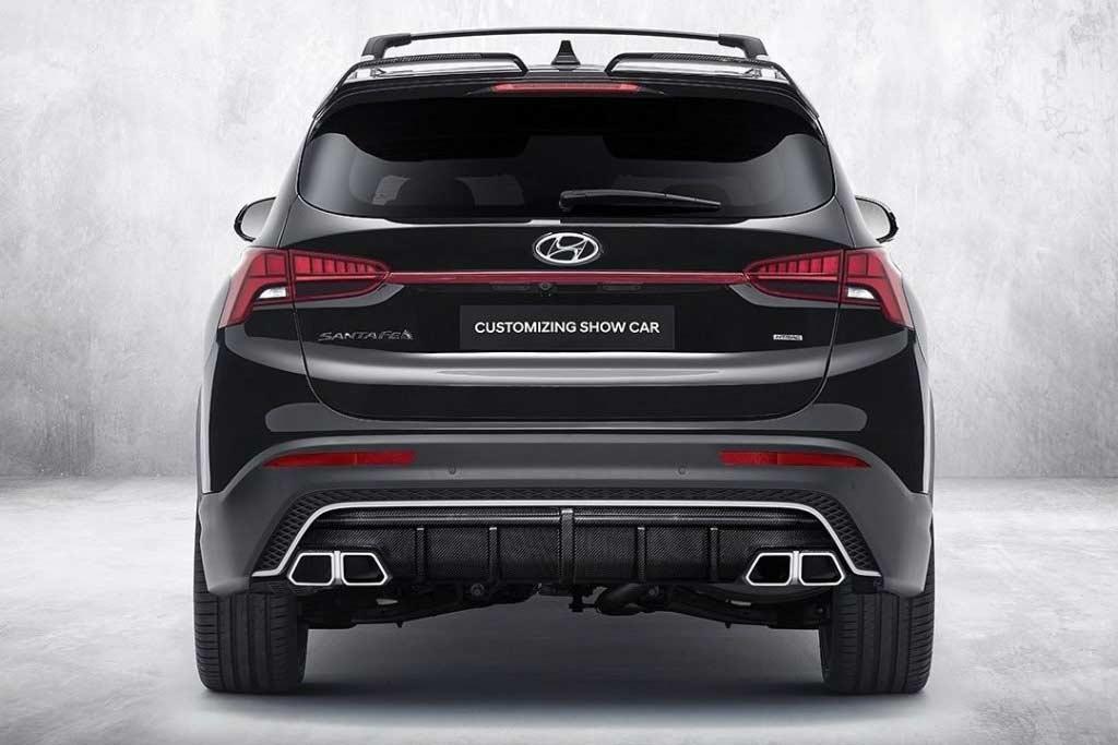 Пакет N Performance сделал облик Hyundai Santa Fe заметно агрессивнее