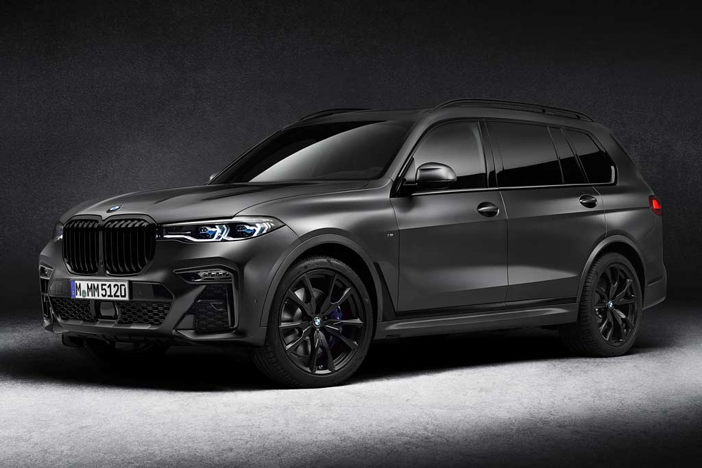 BMW X7 в особом исполнении Dark Shadow Edition: за что просят доплату в 3 млн рублей