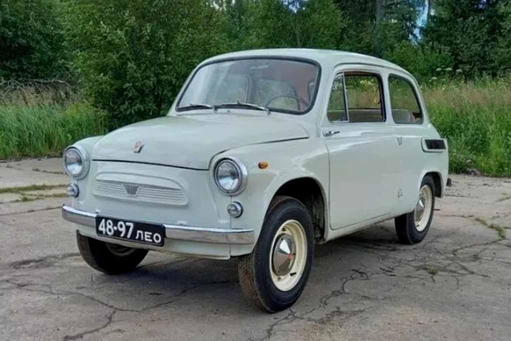 Дороже любого Соляриса: за 52-летний «Горбатый» ЗАЗ-965 просят 1,5 млн рублей