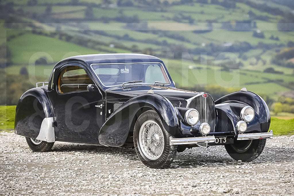 Как вам Bugatti с движком на 220 л.с. и ценой £7 млн: это классический Type 57S Atalante 1937