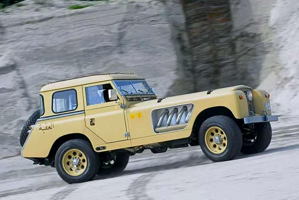 Land Rover Bell Aurens Longnose
