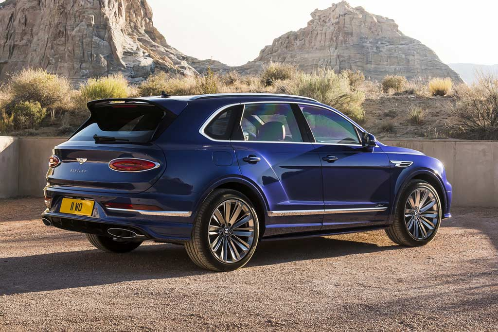 Bentley Bentayga Speed 2021