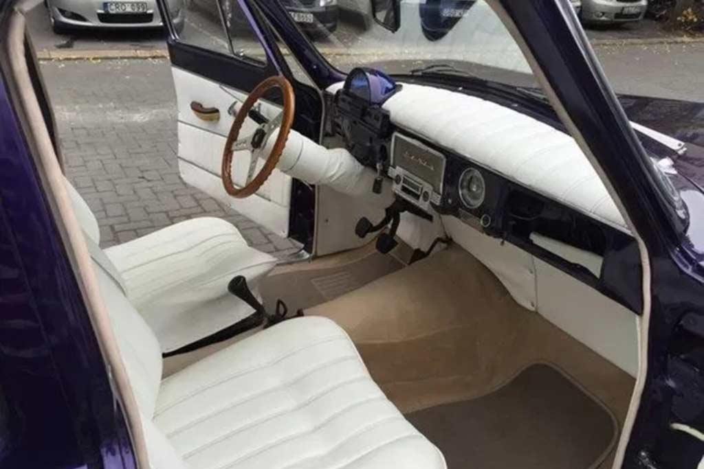 Рестомод ГАЗ-21 на базе W123