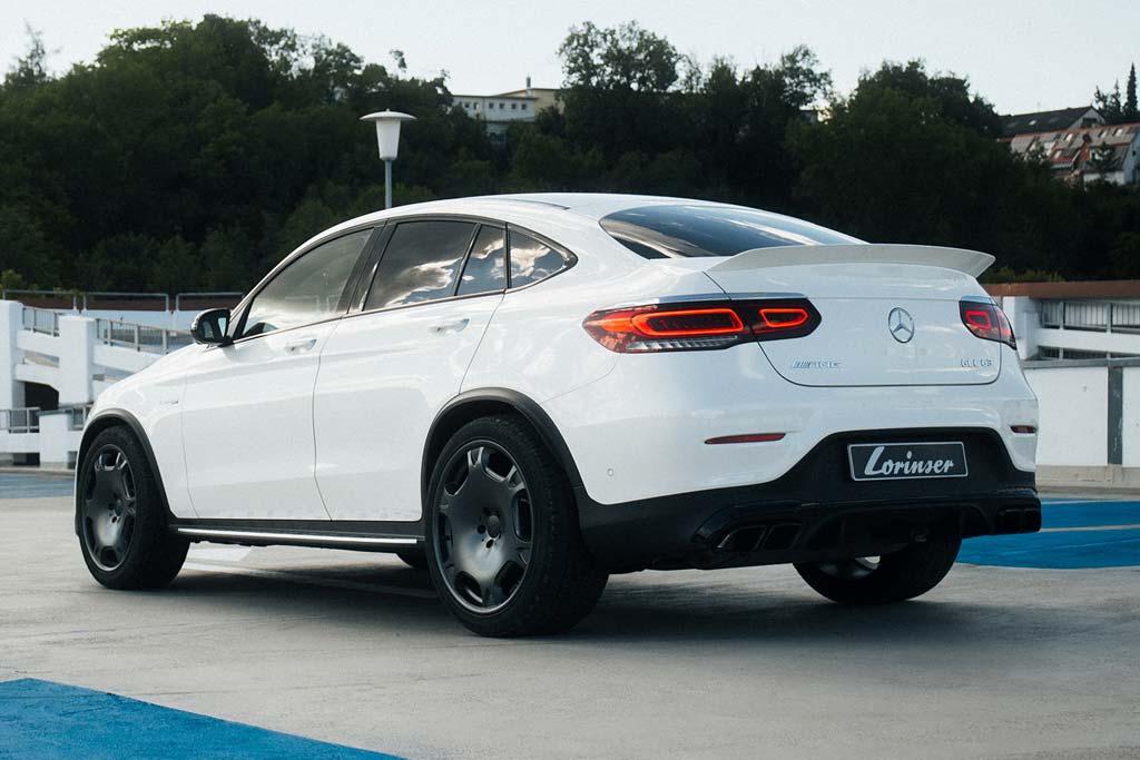 В ателье Lorinser подготовили для Mercedes-AMG GLC 63 S Coupe скромный чип и модные колеса