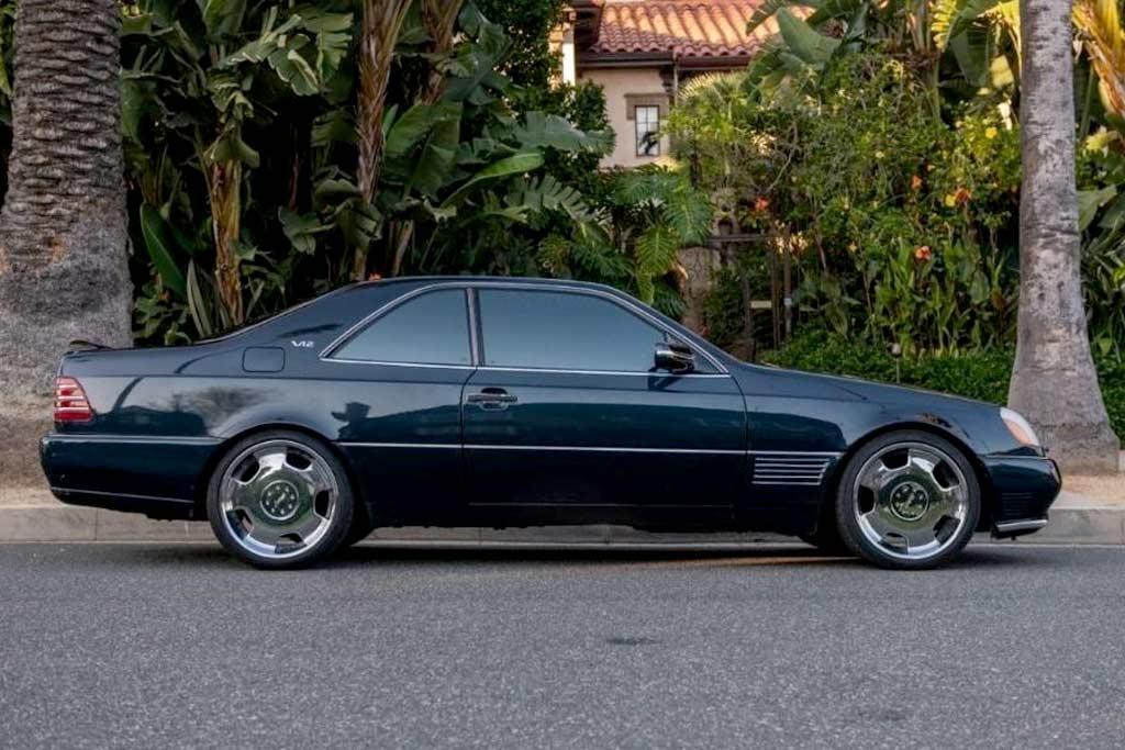 Машина Майкла Джордана: с молотка пустят Mercedes S600 великого баскетболиста