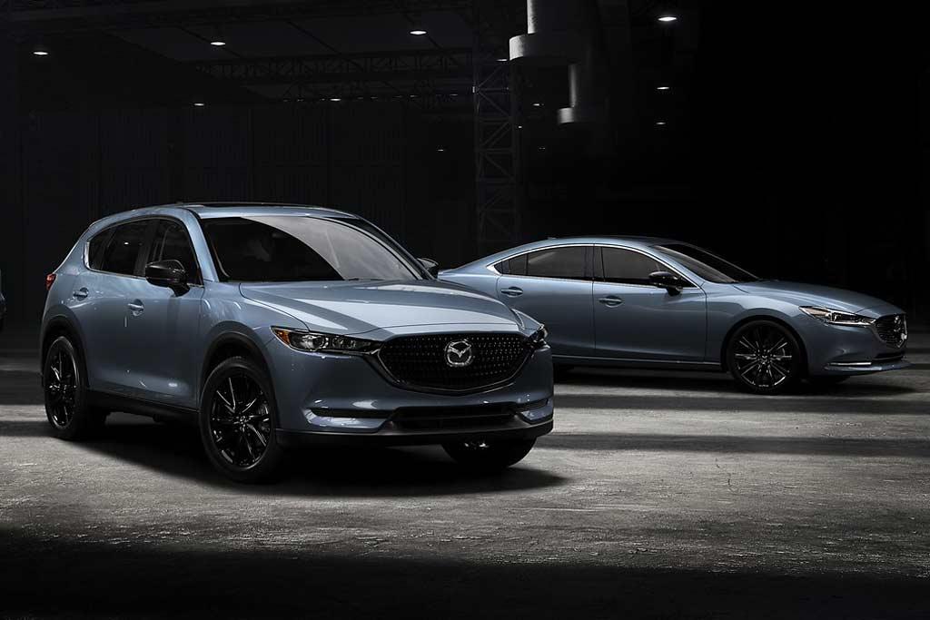 Три модели Mazda получили спецверсию «Carbon Edition»: но настоящего карбона там не ждите