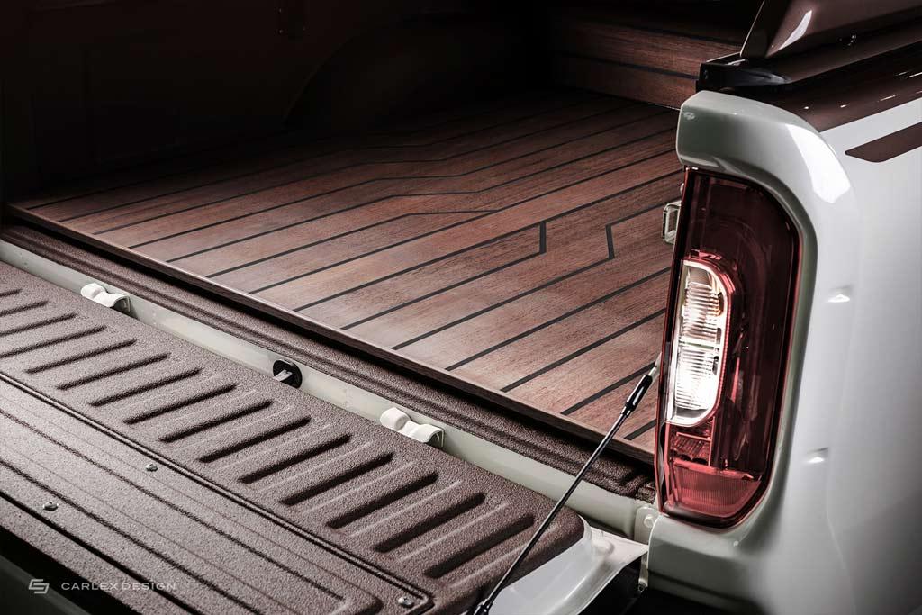 Pickup Design презентовали Mercedes X-Class Yachting Edition с отделкой из дорогого дерева