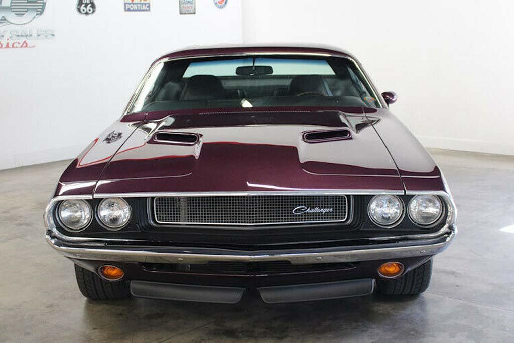 Рестомод Dodge Challenger 1970 года отдают дешевле, чем стоила его реставрация