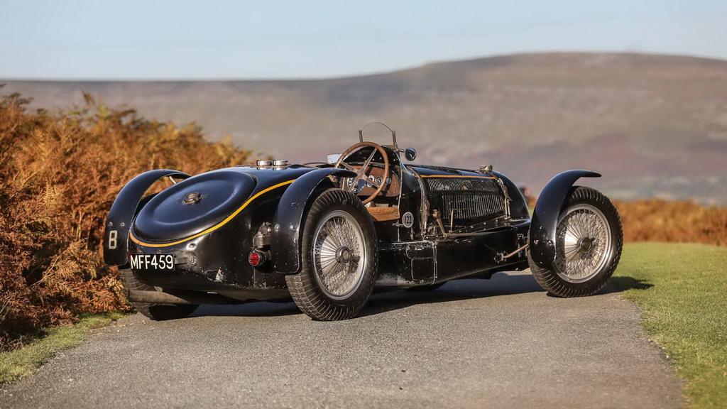 Легендарный Bugatti Type 59 1934 года хотят продать почти за миллиард рублей