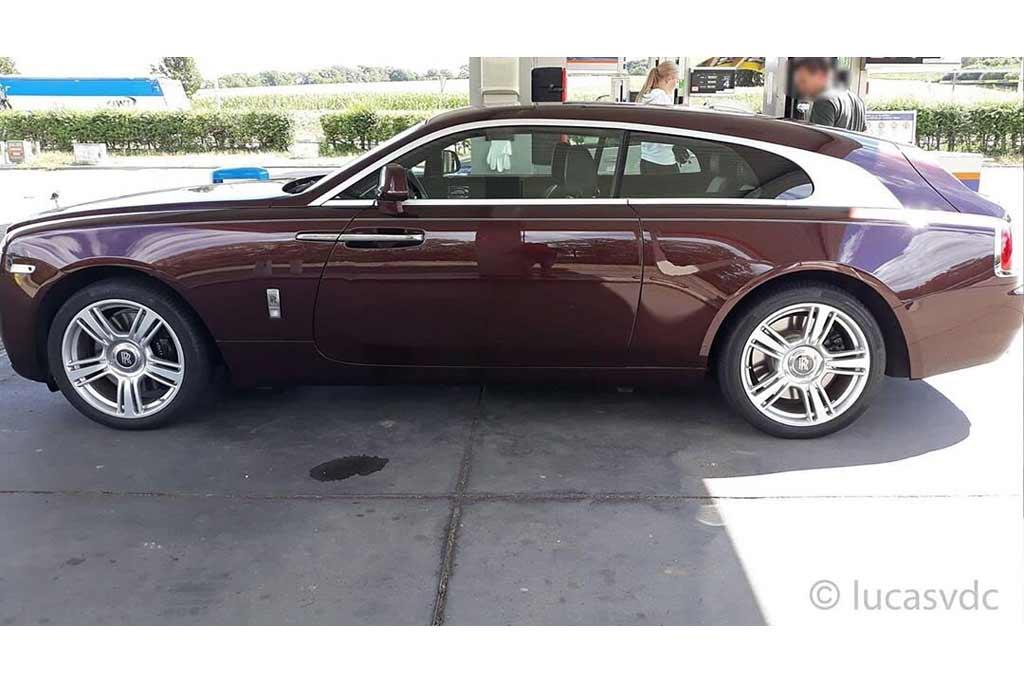 Чтобы не как у всех: роскошный Rolls-Royce Wraith переделали в универсал