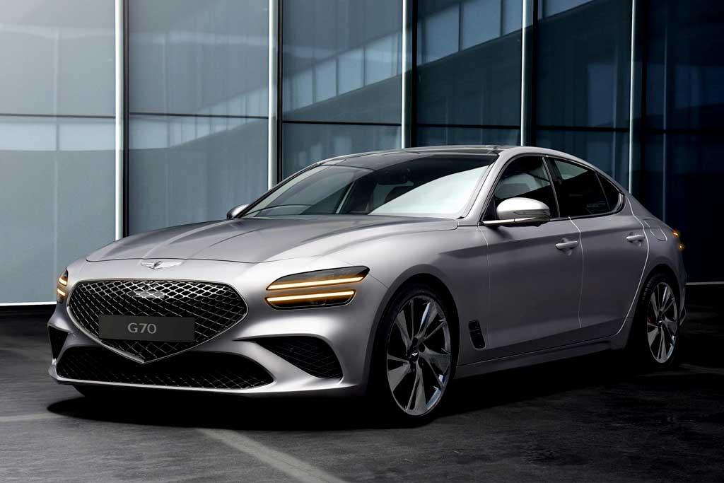 Корейцы обновили Genesis G70: седан получил дизайн в стиле старших моделей